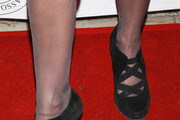 Producer Suzanne DeLaurentiis (shoe detail) attends the 18th Annual MMPA Pre-Oscar Luncheon at The London West Hollywood on February 24, 2011 in West Hollywood, California.