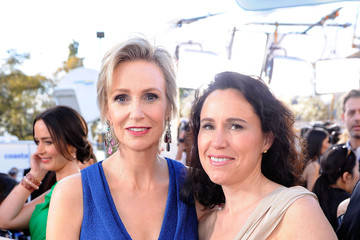 Jane Lynch Lara Embry 18th Annual Screen Actors Guild Awards - Red Carpet