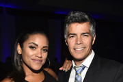 Vivian Lamolli, Esai Morales attend the 18th Annual Voices Of Our Children Fundraiser Gala And Awards at Lowes Hollywood Hotel on September 29, 2018 in Hollywood, California.
