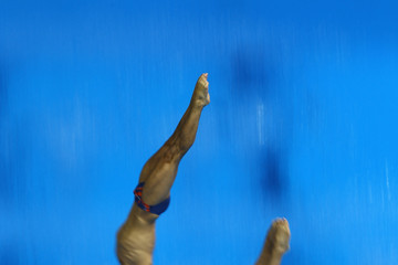 Nicholas Robinson-Baker 18th FINA Visa Diving World Cup - LOCOG Test Event for London 2012: Day One
