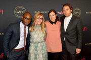 (L-R) Director Barry Jenkins, producer Dede Gardner, producer Adele Romanski, and producer Jeremy Kleiner attend the 19th Annual AFI Awards at Four Seasons Hotel Los Angeles at Beverly Hills on January 4, 2019 in Los Angeles, California.