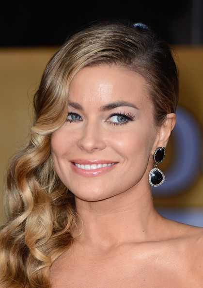 Actress Carmen Electra arrives at the 19th Annual Screen Actors Guild Awards held at The Shrine Auditorium on January 27, 2013 in Los Angeles, California.
