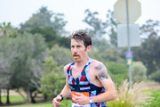 Scott Smith, men's first place finisher in the half marathon, competes during the 19th running of the Suja Rock 'n' Roll San Diego Marathon on June 5, 2016 in San Diego, California.