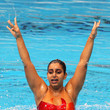 Avani Kardam Dave 19th Commonwealth Games - Day 4: Synchronised Swimming