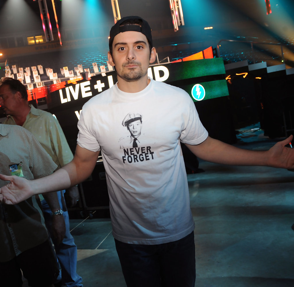 Brad Paisley In 2009 Cmt Music Awards Rehearsals Day 2