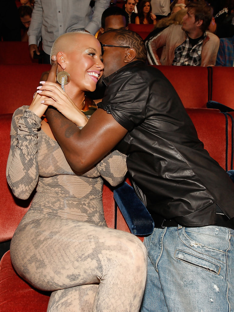 Kanye West and Amber Rose Photos Photos