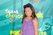 Actress Madison De La Garza arrives at the 2009 Teen Choice Awards held at Gibson Amphitheatre on August 9, 2009 in Universal City, California.