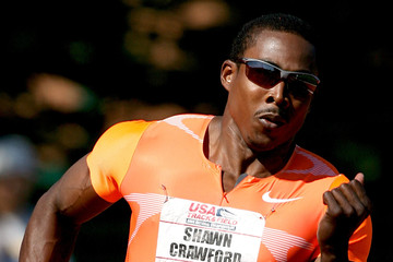 Shawn Crawford 2009 USA Outdoor Track & Field Championships Day 3