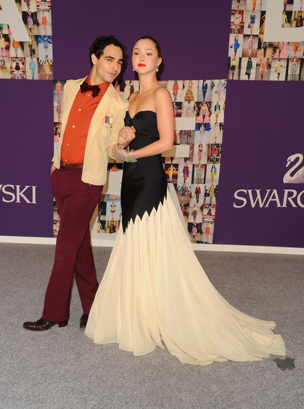 Model Devon Aoki and designer Zac Posen attend the 2010 CFDA Fashion Awards at Alice Tully Hall at Lincoln Center on June 7, 2010 in New York City.