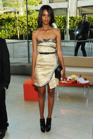 Model Liya Kebede attends the 2010 CFDA Fashion Awards at Alice Tully Hall, Lincoln Center on June 7, 2010 in New York City.
