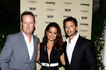 Brooke Burke David Charvet The 2010 Entertainment Weekly and Women In Film Pre-Emmy Party - Inside