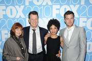 Actors Blair Brown, John Noble, Jasika Nicole and Joshua Jackson attend the 2010 FOX Upfront after party at Wollman Rink, Central Park on May 17, 2010 in New York City.