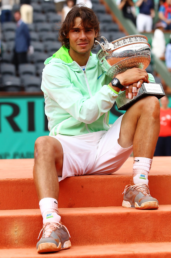 rafael nadal in 2010 french open day fifteen zimbio. Black Bedroom Furniture Sets. Home Design Ideas