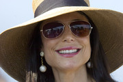 Television personality Bethenny Frankel attends the opening day of the 2010 Mercedes-Benz Polo Challenge SWAGG Lounge at Blue Star Jets Field at Two Trees Farm on July 24, 2010 in Bridgehampton, New York.