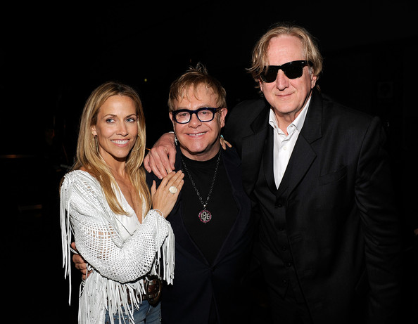 Musicians Sheryl Crow, Elton John and T-Bone  Burnett attend the 2010 MusiCares Person Of The Year Tribute To Neil  Young at the Los Angeles Convention Center on January 29, 2010 in Los  Angeles, California