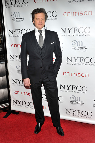 Actor Colin Firth attends the 2010 New York Film Critics Circle Awards at Crimson on January 10, 2011 in New York City.