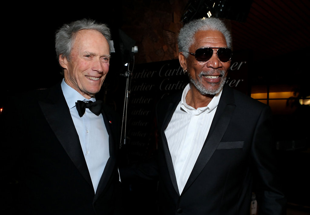 Clint Eastwood and Morgan Freeman Photos Photos - 2010 ...