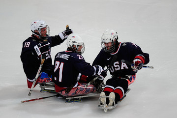 Alexi Salamone 2010 Paralympic Games- Day 5