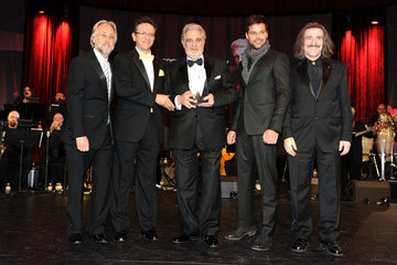 Neil Portnow Luis Cobos 2010 Person Of The Year Honoring Placido Domingo - Show