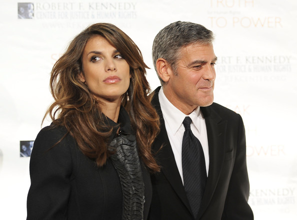 Elisabetta Canalis is Still Talking About George Clooney