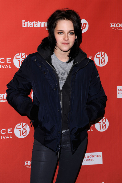 "Kristen Stewart Actress Kristen Stewart attends ""The Runaways"" premiere during the 2010 Sundance Film Festival at Eccles Center Theatre on January 24, 2010 in Park City, Utah."
