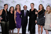 Turnaround for Children Co-Chair Kelly Gerstenhaber, Turnaround for Children Founder Pamela Cantor, Simone Levinson, New York City Schools Chancellor Joel Klein, actress Uma Thurman, Cristina Greeven Cuomo and Rebekah McCabe attend the 2010 Turnaround For Children benefit dinner at The Plaza Hotel on April 13, 2010 in New York City.