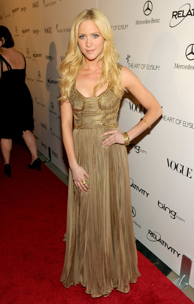 "Actress Brittany Snow arrives at the 2011 Art Of Elysium ""Heaven"" Gala held at the California Science Center on January 15, 2011 in Los Angeles, California."