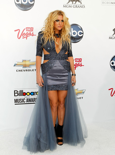 Singer Kesha arrives at the 2011 Billboard Music Awards at the MGM Grand Garden Arena May 22, 2011 in Las Vegas, Nevada.