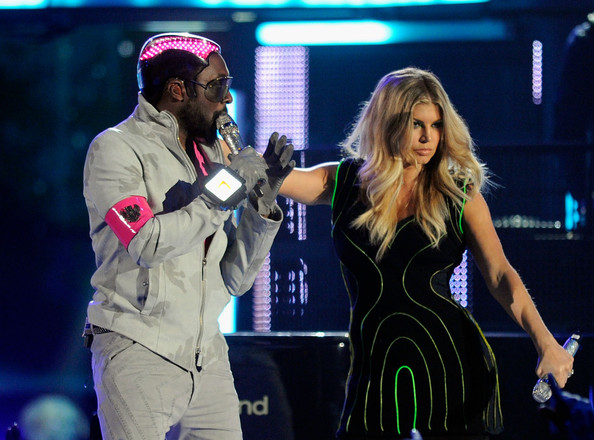 Singers will.i.am (L) and Fergie perform onstage during the 2011 Billboard Music Awards at the MGM Grand Garden Arena May 22, 2011 in Las Vegas, Nevada.