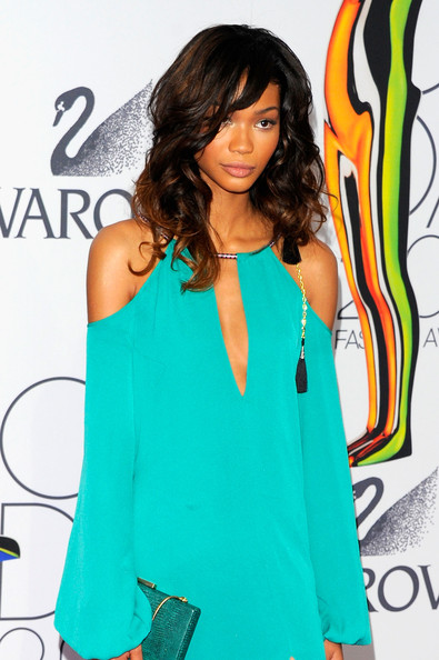 Chanel Iman attends the 2011 CFDA Fashion Awards at Alice Tully Hall, Lincoln Center on June 6, 2011 in New York City.