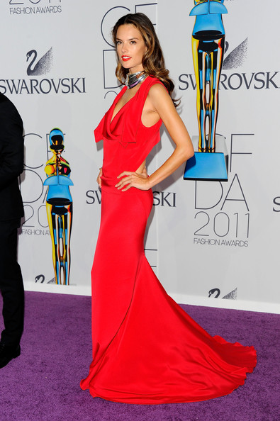 Alessandra Ambrosio attends the 2011 CFDA Fashion Awards at Alice Tully Hall, Lincoln Center on June 6, 2011 in New York City.