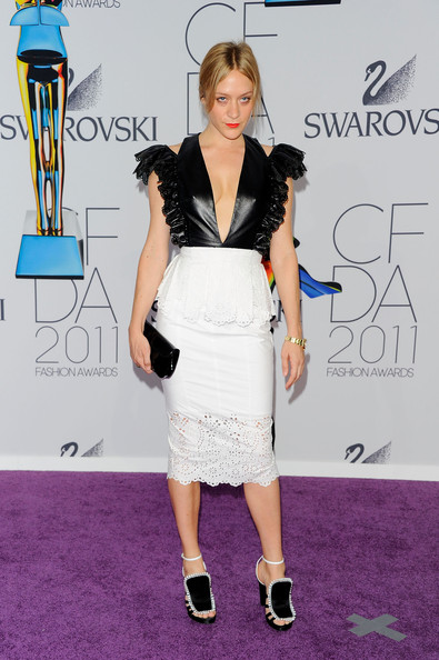 Actress Chloe Sevigny attends the 2011 CFDA Fashion Awards at Alice Tully Hall, Lincoln Center on June 6, 2011 in New York City.
