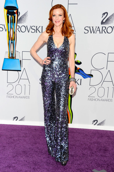 Actress Marcia Cross attends the 2011 CFDA Fashion Awards at Alice Tully Hall, Lincoln Center on June 6, 2011 in New York City.