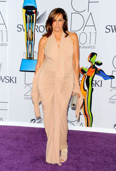 Designer Donna Karan attends the 2011 CFDA Fashion Awards at Alice Tully Hall, Lincoln Center on June 6, 2011 in New York City.