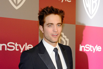 Robert+Pattinson in 2011 InStyle/Warner Brothers Golden Globes Party - Arrivals