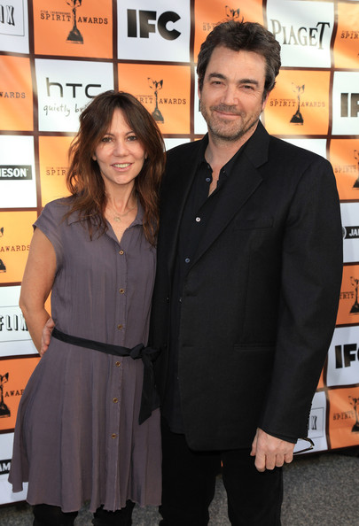 Producer Leslie Urdang and actor Jon Tenney arrive at the 2011 Independent Spirit Awards Filmmaker Grant and Nominee Brunch at BOA Steakhouse on January 15, 2011 in Los Angeles, California.