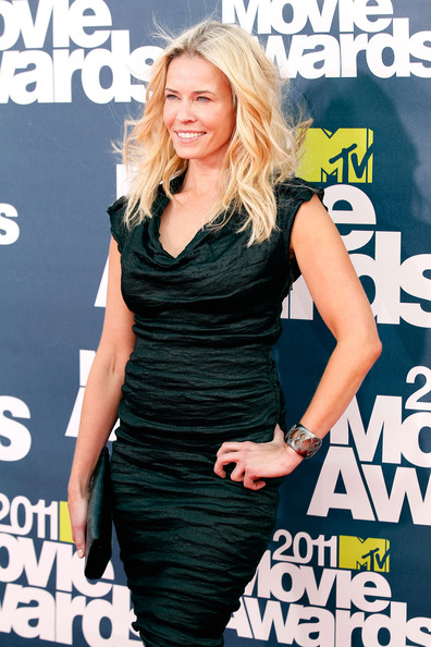 Comedian Chelsea Handler arrives at the 2011 MTV Movie Awards at Universal Studios' Gibson Amphitheatre on June 5, 2011 in Universal City, California.