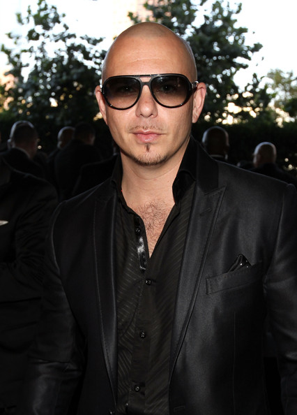Rapper Pitbull arrives at the 2011 MTV Video Music Awards at Nokia Theatre L.A. LIVE on August 28, 2011 in Los Angeles, California.