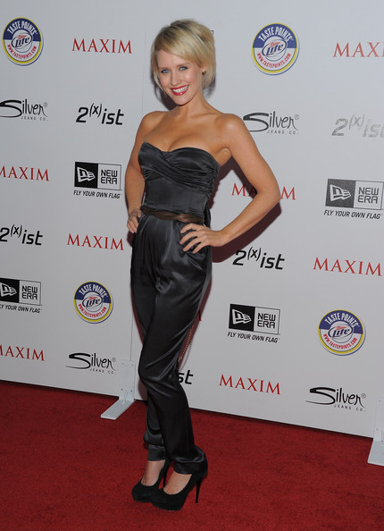 Actress Nicky Whelan arrives at Maxim's Hot 100 Party at Eden on May 11, 2011 in Hollywood, California.