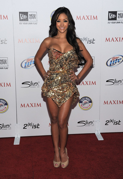 Melanie Iglesias arrives at Maxim's Hot 100 Party at Eden on May 11, 2011 in Hollywood, California.