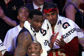 Amare Stoudemire Carmelo Anthony 2011 NBA All Star Game