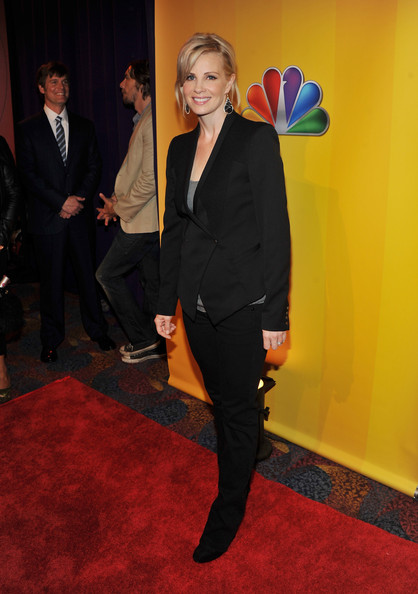 Actress Monica Potter attends the 2011 NBC Upfront at The Hilton Hotel on May 16, 2011 in New York City.