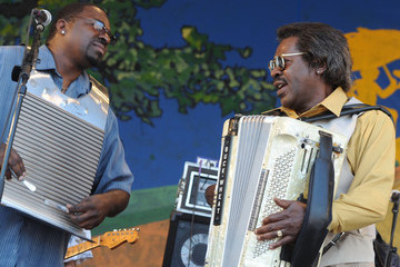 Buckwheat Zydeco 2011 New Orleans Jazz & Heritage Festival Presented By Shell - Day 5