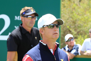 David Toms 2011 Presidents Cup - Day Four