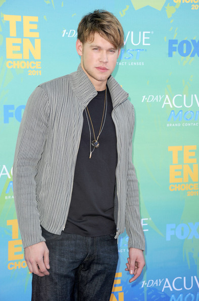 Actor/singer Chord Overstreet arrives at the 2011 Teen Choice Awards held at the Gibson Amphitheatre on August 7, 2011 in Universal City, California.