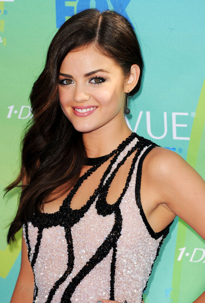 Actress Lucy Hale arrives at the 2011 Teen Choice Awards held at the Gibson Amphitheatre on August 7, 2011 in Universal City, California.
