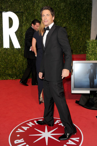 Actor Rob Lowe arrives at the Vanity Fair Oscar party hosted by Graydon Carter held at Sunset Tower on February 27, 2011 in West Hollywood, California.