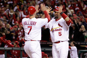 Albert Pujols Matt Holliday Photos Photo