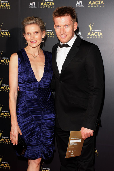 David Wenham with cute, Girlfriend Kate Agnew