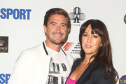 Harry Kewell and wife Sheree Murphy arrive at the opening party of the 2012 Australian Grand Prix at Club 23 on March 14, 2012 in Melbourne, Australia.